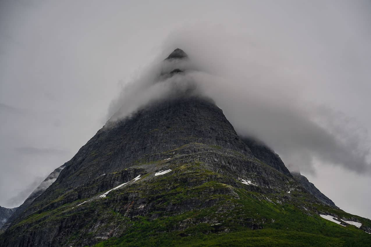 Innerdalstårnet in innerdalen in norway