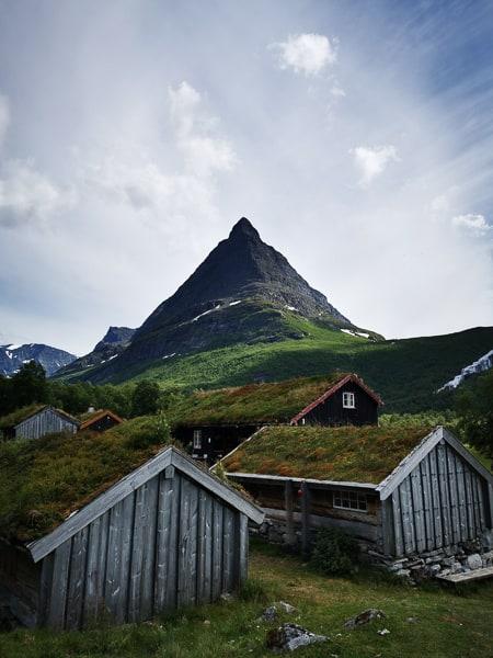 Renndølsetra in innerdalen Norway