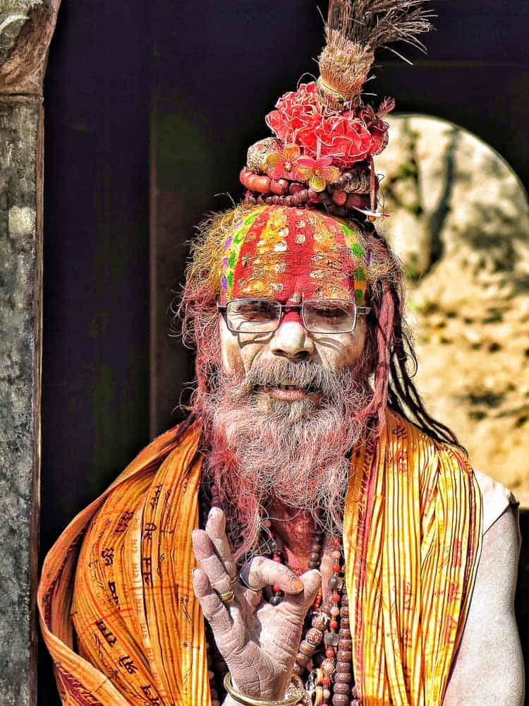 Sadhu nepal kathmandu