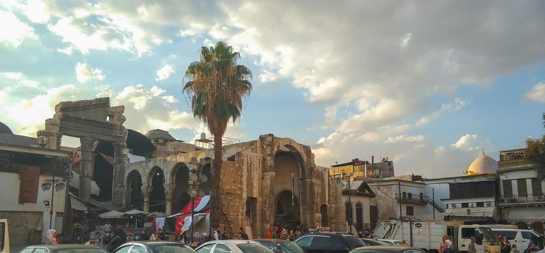 Al-Hamidiyah Souq in damascus syria