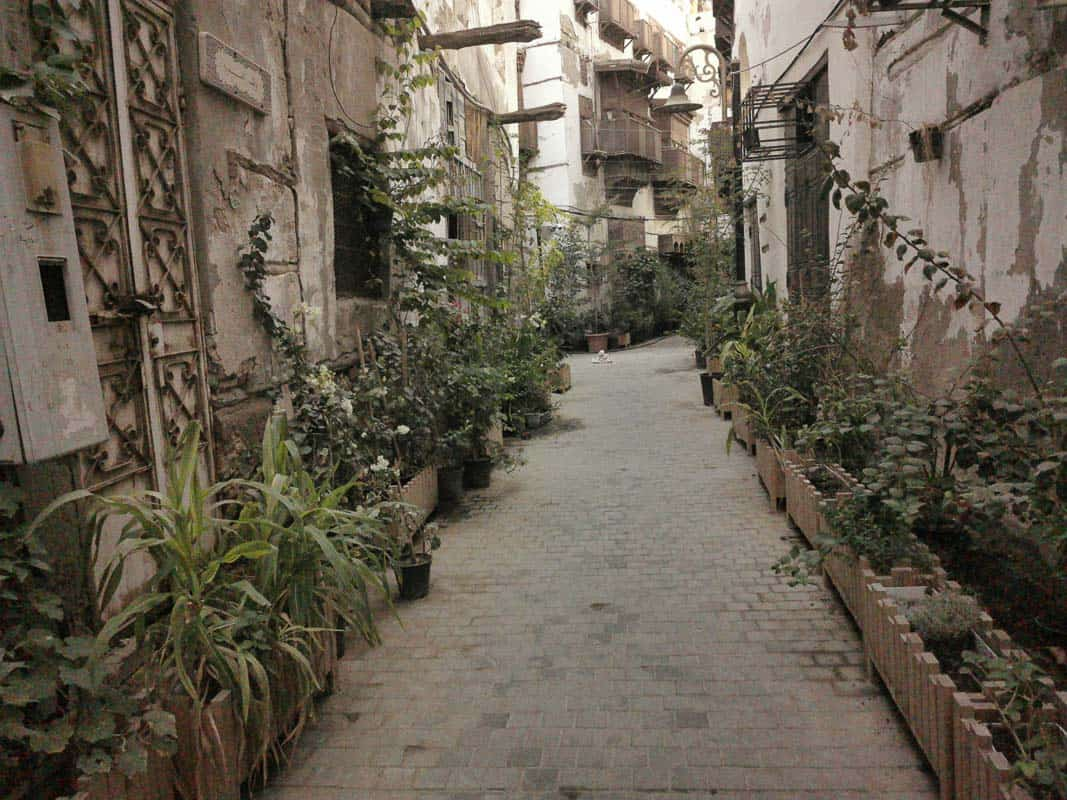 The chemist street in Al-Balad