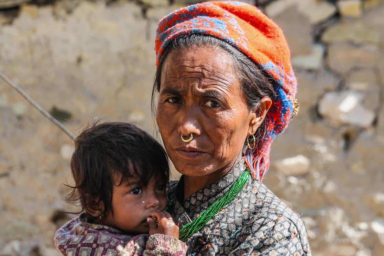 local in Mugu District in north west Nepal