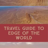Travel guide to Edge of the world in Saudi Arabia, a popular day trip from Riyadh