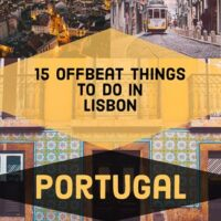 15 Offbeat Things to do in Lisbon The Capital Of Portugal