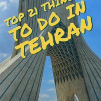 Travel guide to Top 21 Things To Do In Tehran, Iran´s Bustling Capital.