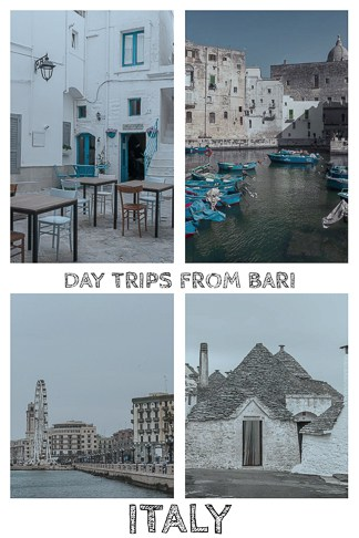 Easy day trips from Bari: Alberobello and Monopoli in southern Italy