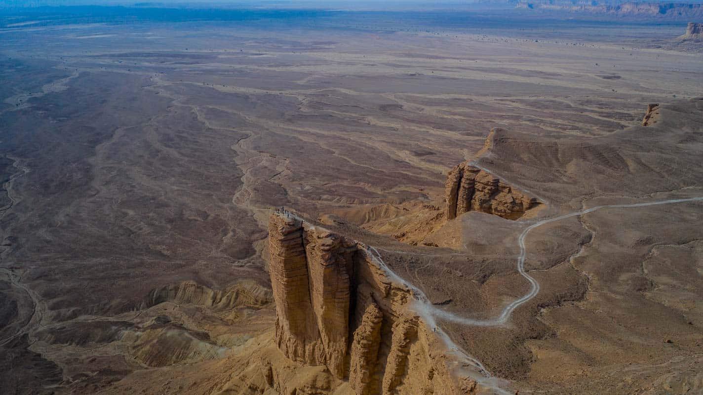 Edge of the world saudi arabia