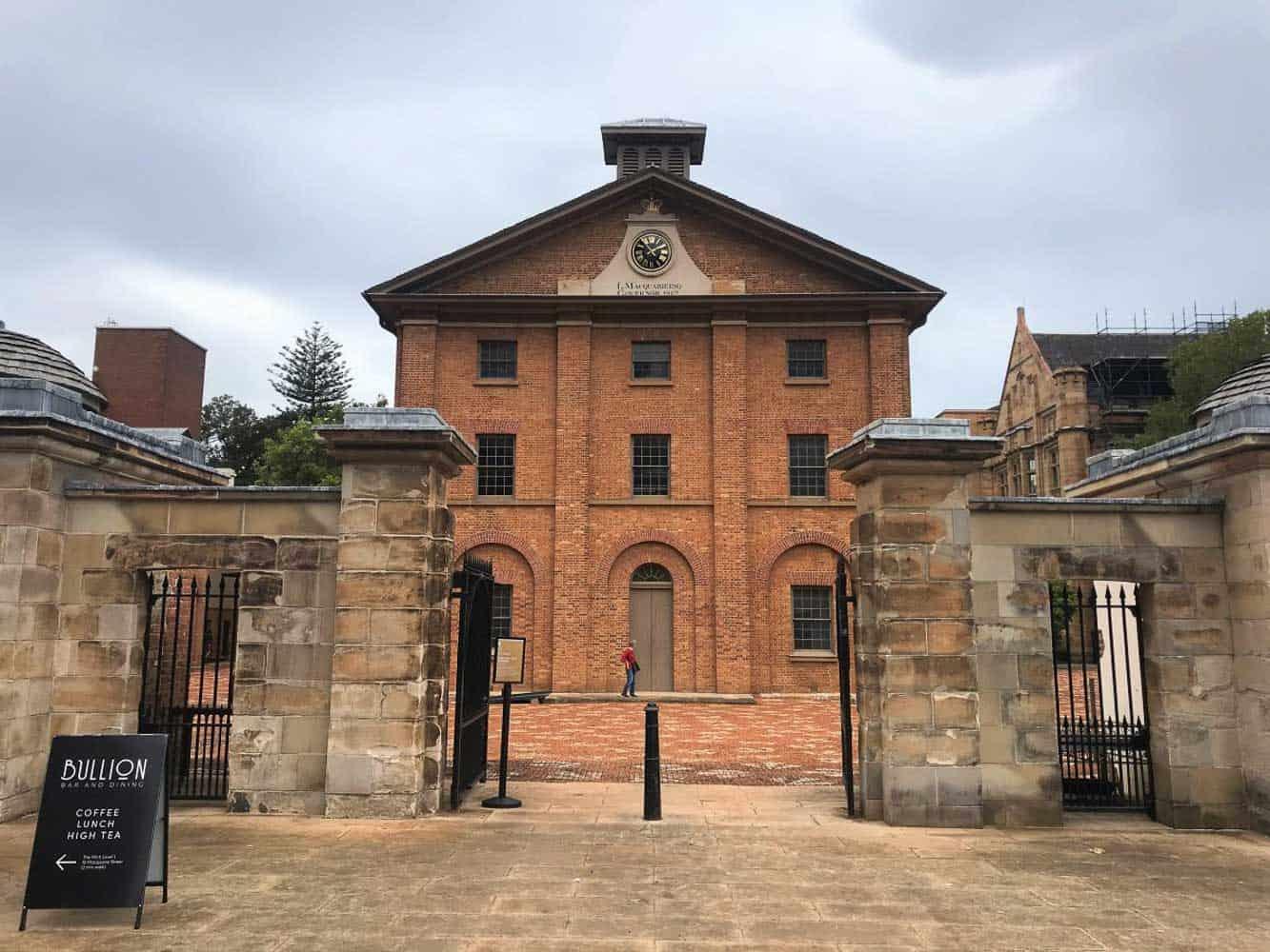 Hyde park Barracks Australia