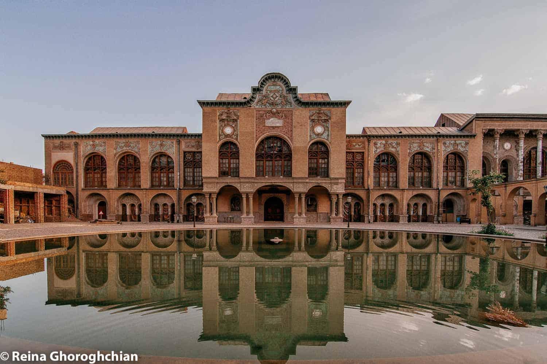 Masoodiyeh Palace in Tehran