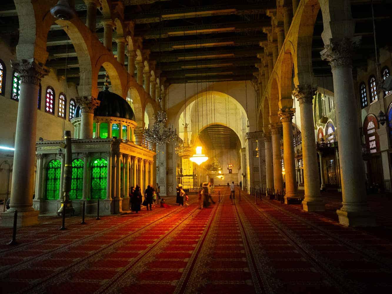Umayyad Mosque inside