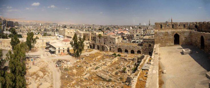 Damascus citadel syria