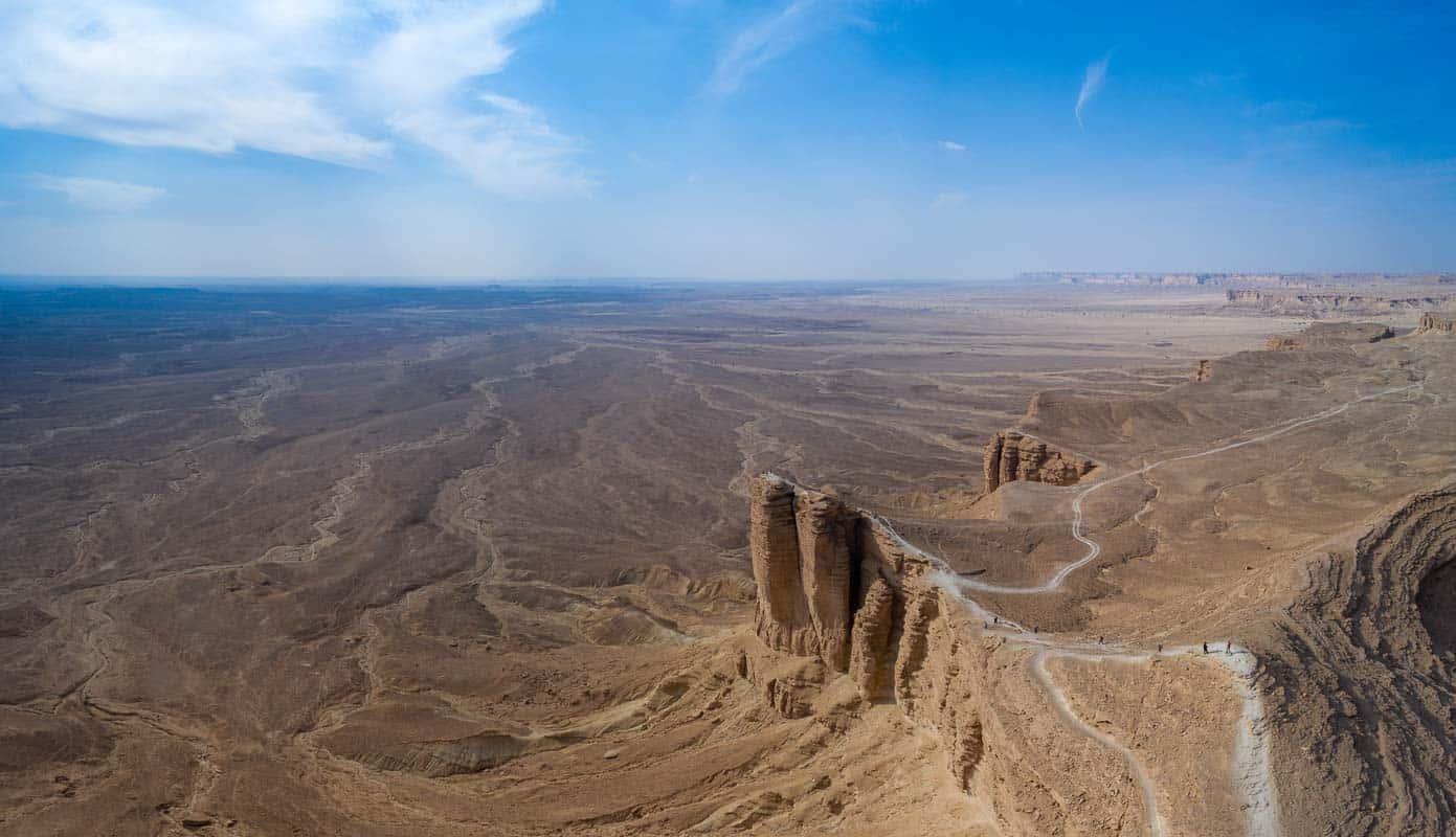 The Edge Of The World. Saudi Arabia