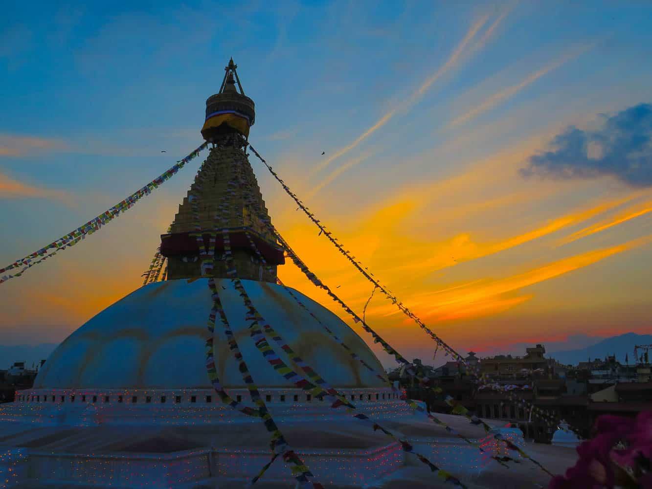 Boudha in nepal