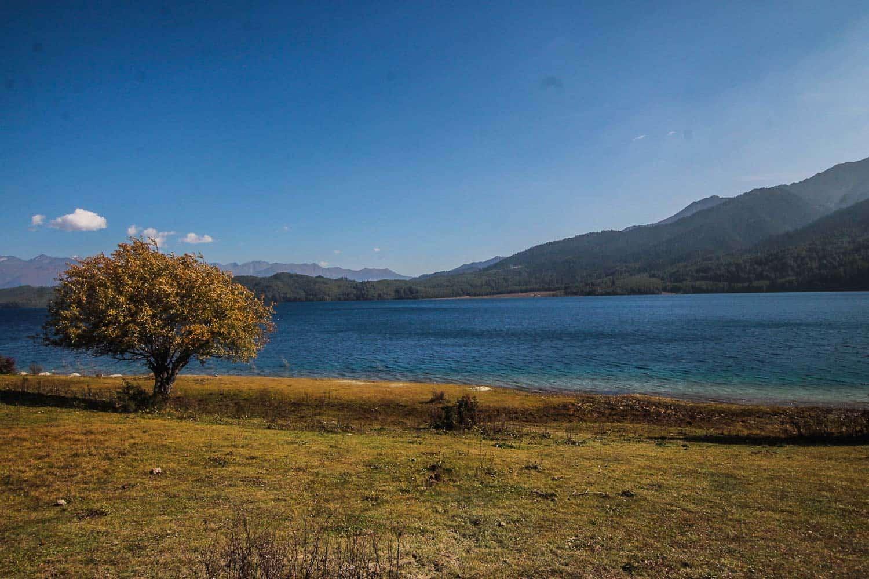 Rara lake the largest lake in Nepal