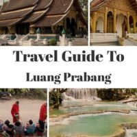 Travel Guide to Luang Prabang in Laos, one the most charming towns in South East Asia