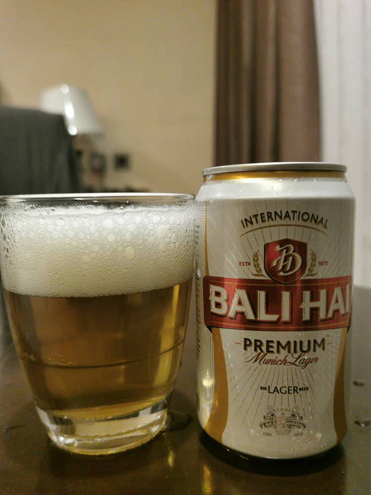 Bali Hai, local beer from Bali Indonesia