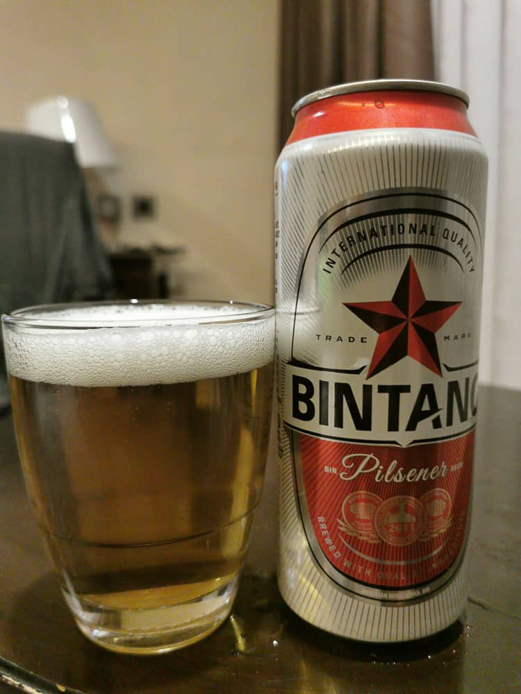 Bintang beer the most popular beer in Indonesia