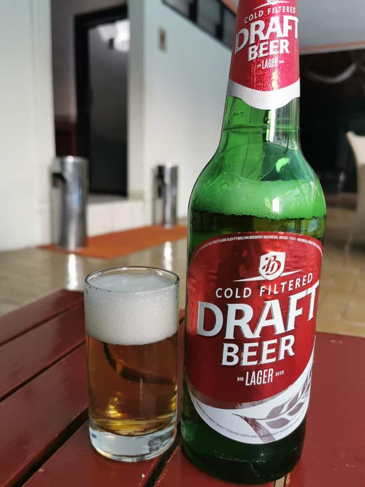 Bali Hai draft beer Indonesia