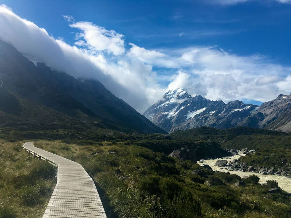 South Island Mount Cook