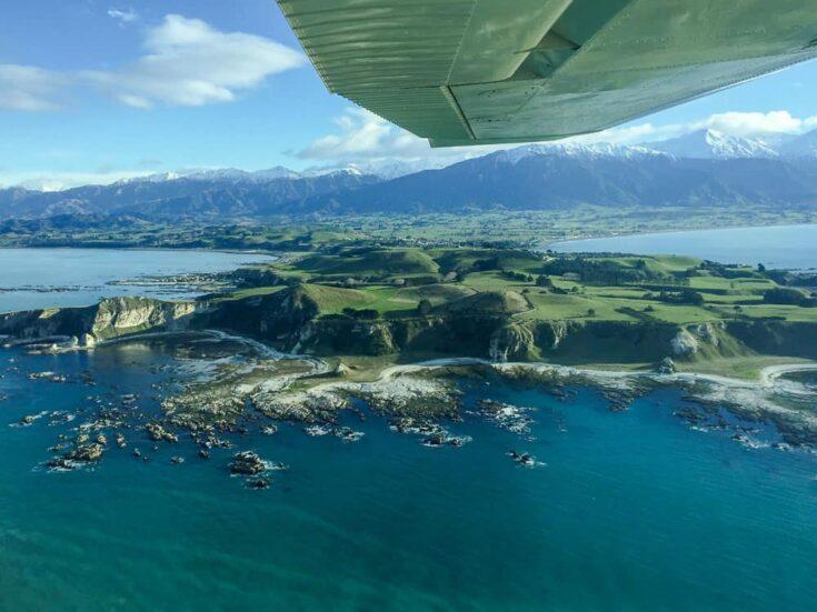 Kaikoura Peninsula Plane New Zealand