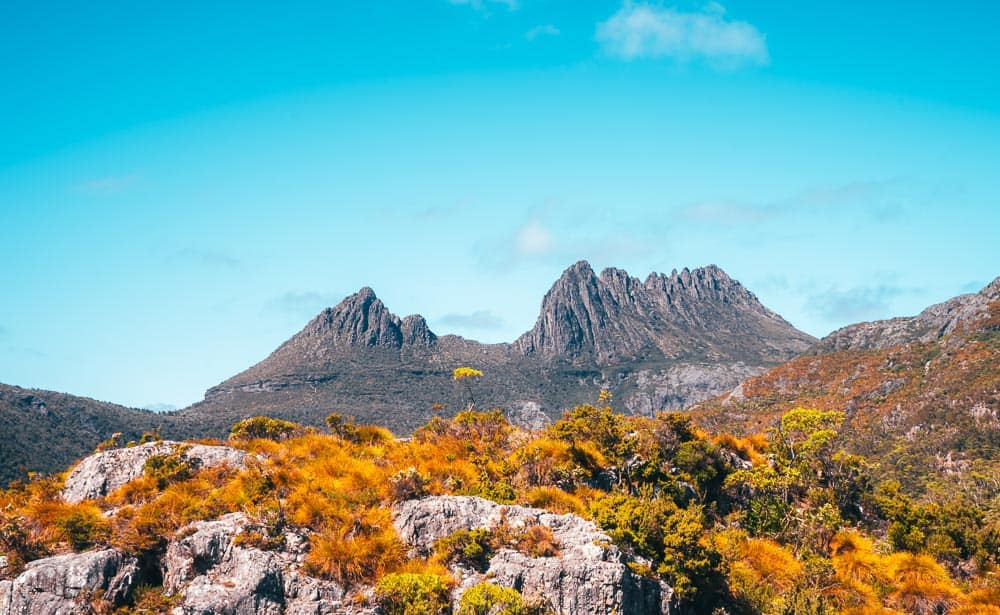 Cradle Mountain - Lake Sinclair National Park in Australia