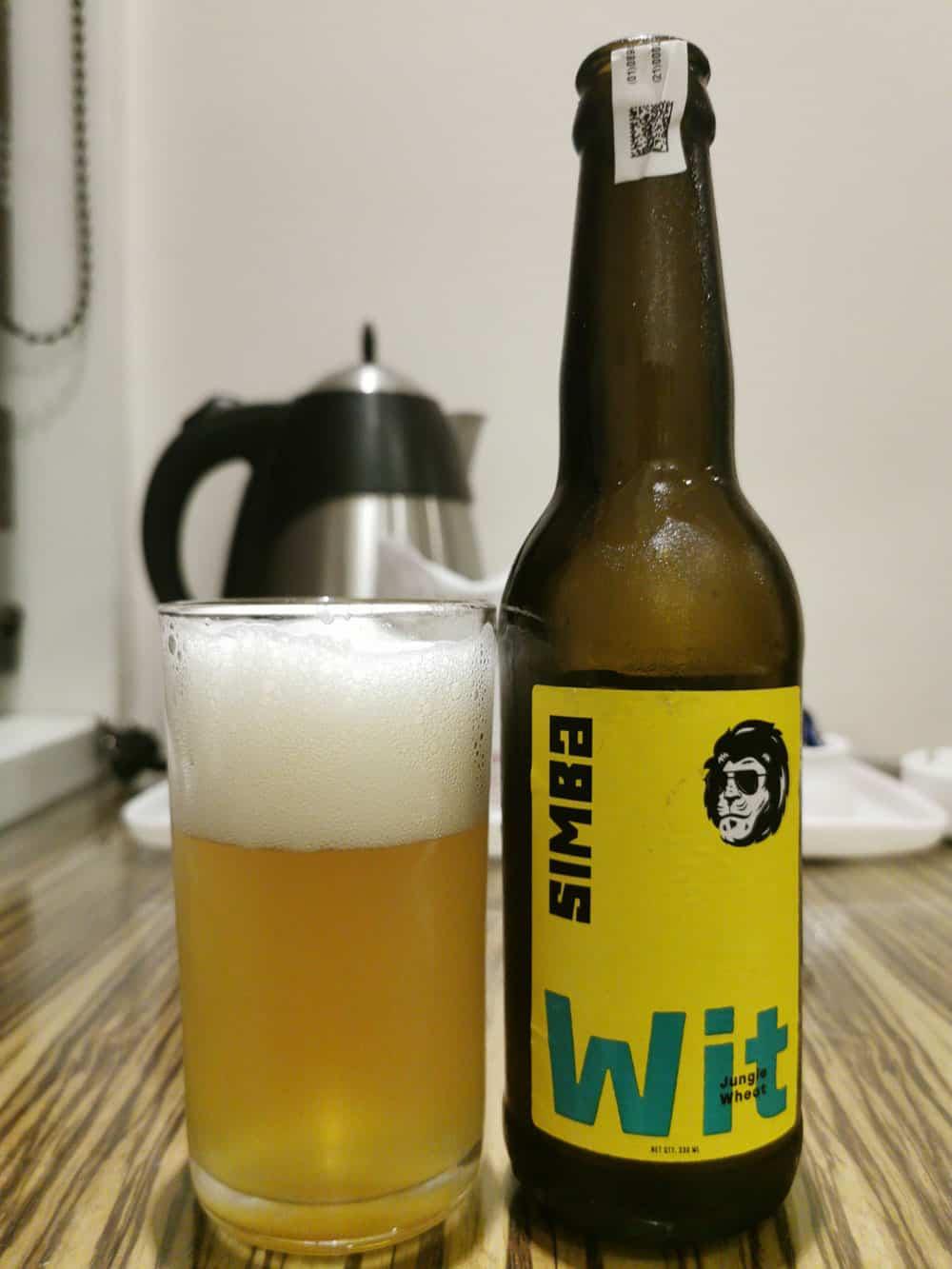 Simba Jungle Wheat indian craft beer