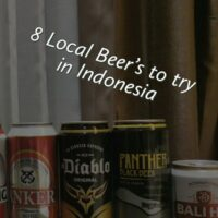 What local beer should you drink in Indonesia?