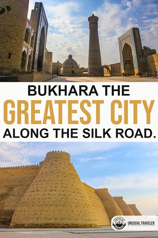 Bukhara once one of the most important cites on the silk road, today located in Uzbekistan, Central Asia