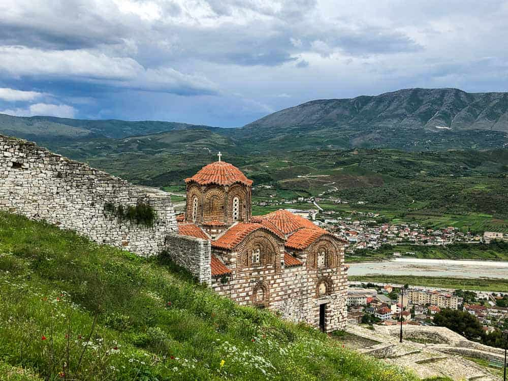 The Church of the Holy Trinityof in Berat and Albania