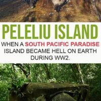 Travel guide to Peleliu Island a tiny island that belongs to Palau in the south pacific ocean and home to one of the bloodiest batels in WW2 between Japanase and US forces