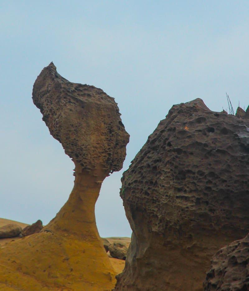 queen's head at yehliu geopark