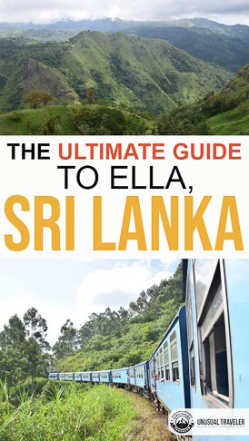 Travel guide to Ella in Sri Lanka