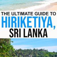 guide to Hiriketiya Bay a surf paradise in southern Sri Lanka.