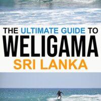 Weligama surf guide in Sri Lanka