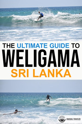 Weligama surf guide in Sri Lanka