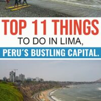 Travel guide to Lima the capital and largest city in Peru.
