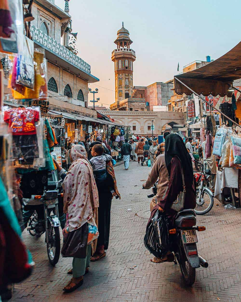 delhi gate in Lahore Pakistan