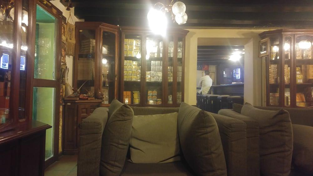 Cigar bar in Cuba