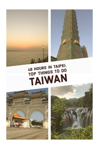 Travel guide to what to do during 48 hours in Taipei the capital of Taiwan.