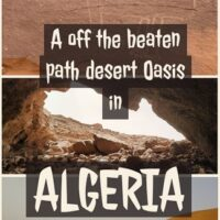Travel guide to Taghit a off the beaten path in the Saharan desert, in western Algeria