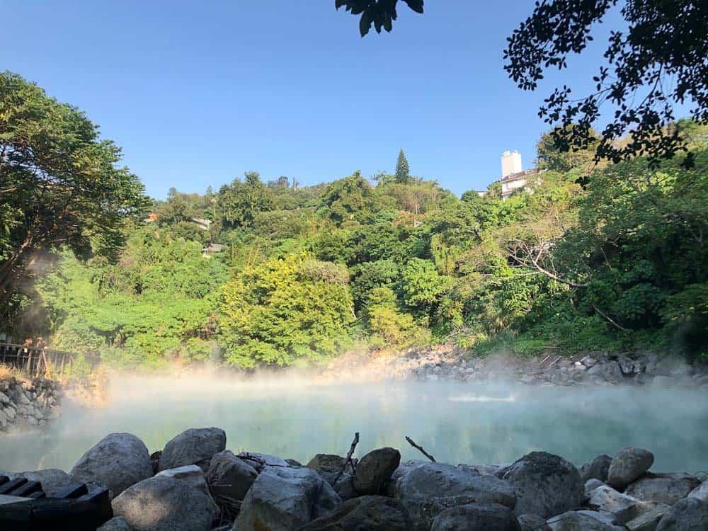 Beitou Thermal Valley outside Taipei in Taiwan