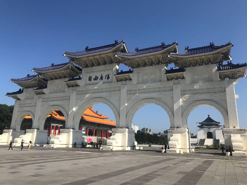 Chiang Kai-Shek in Taipei