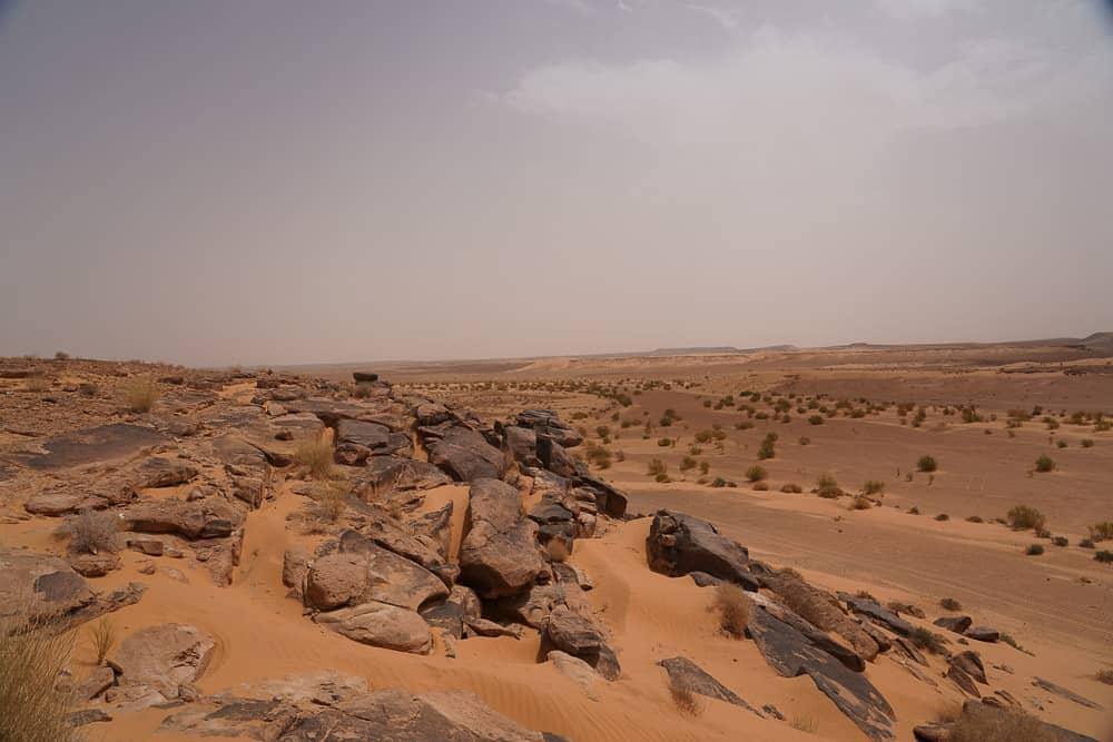 Taghit landscape