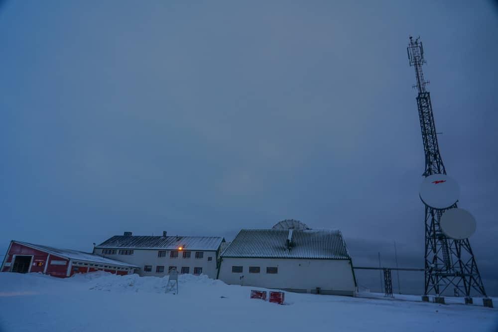 icefjord isefjord radio station Svalbard