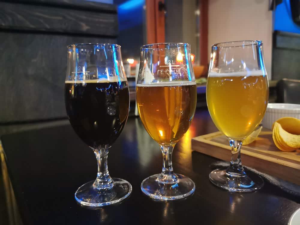 Barentsburg craft beer