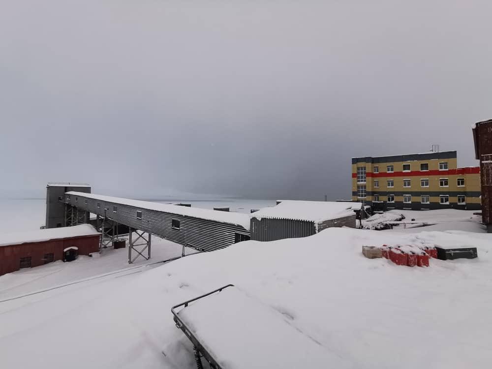 Barentsburg mine