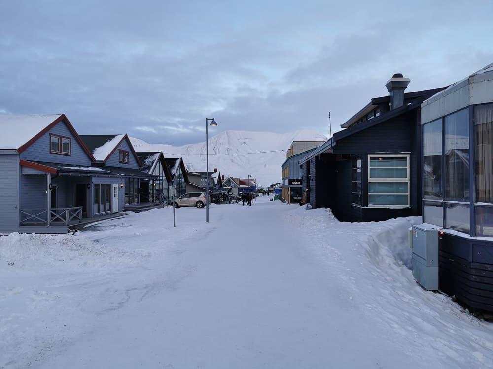 Longyerbyen main street