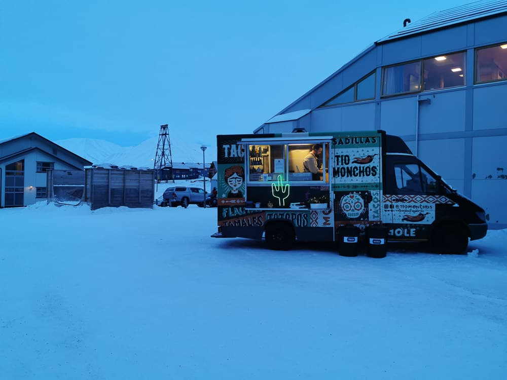 world´st most northern taco stand