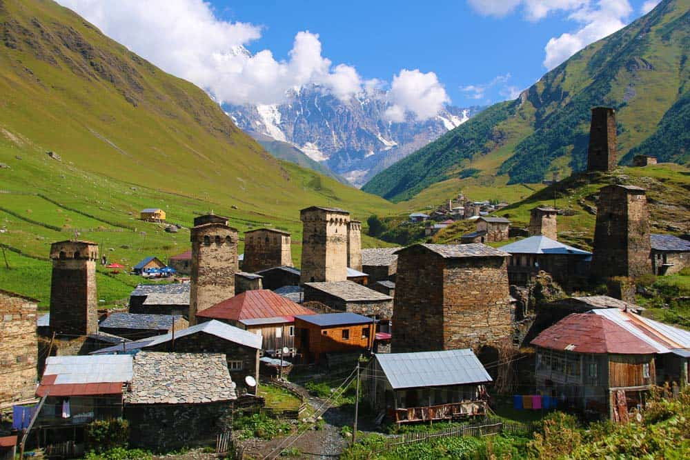 Ushguli village Georgia
