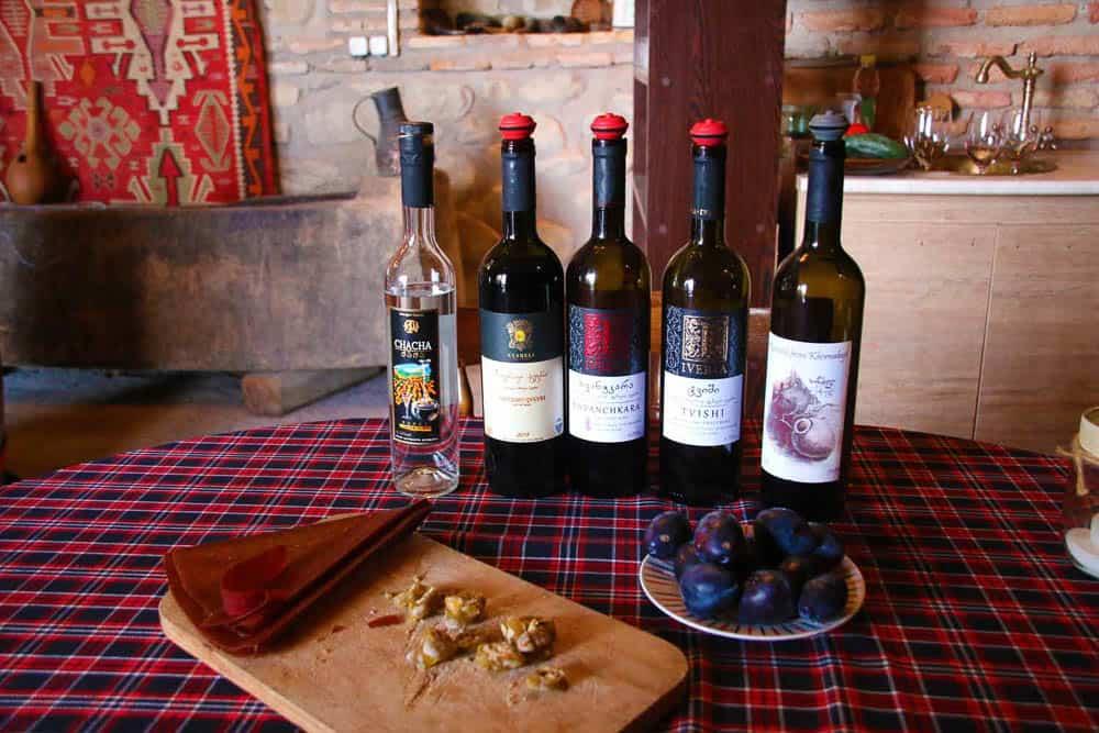 Wine tasting Sighnaghi Goegia